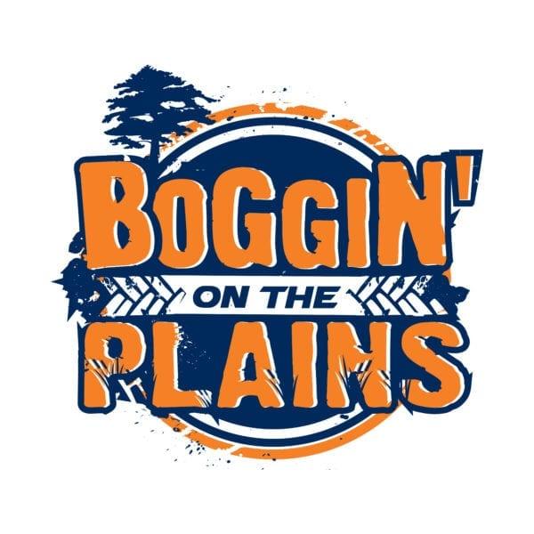 Boggin on the Plains Logo
